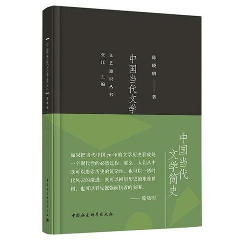 《中国当代文学简史》:一路导览文学的风景
